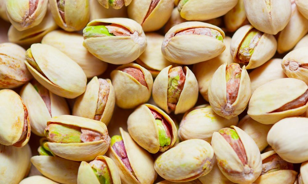 pistachios and peanuts