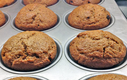 Muffins flaxseed